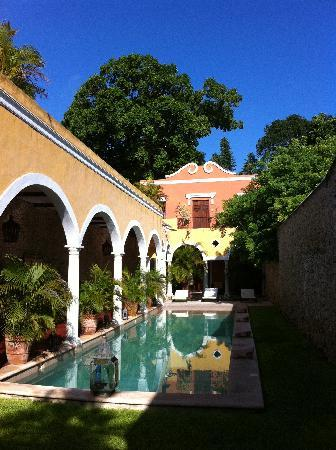 Hotel Hacienda Merida: alberca