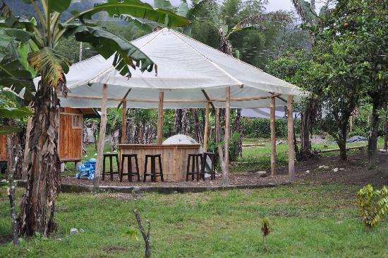 La Casa del Camino Mindo: Une partie du jardin