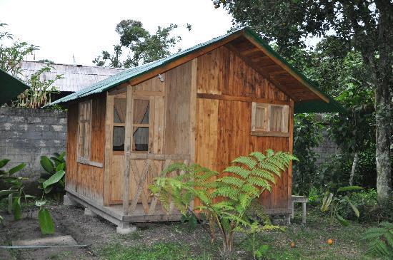 La Casa del Camino Mindo: Une des cabanes
