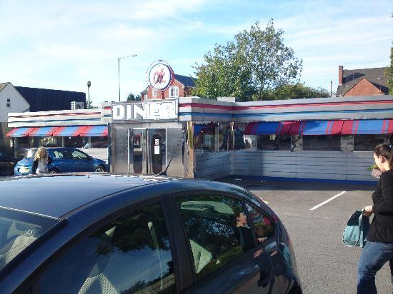 OK Diner in Cannock. Not Newark as the review says (sorry, newark)