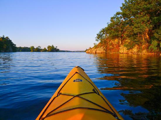 Gananoque, Canada: Paddling The Great Waterway