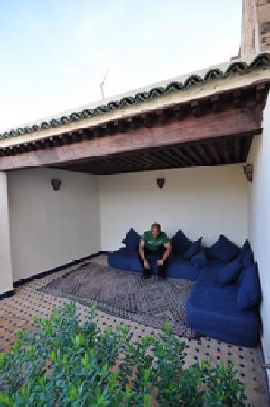Dar Erchacha: terrasse