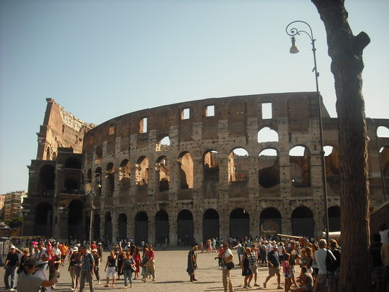 Tours in Rome: Colosseum....its better than the photo, you need to see it in person!