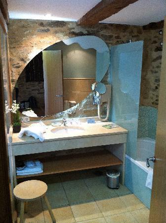 Posada Real La Carteria: El baño
