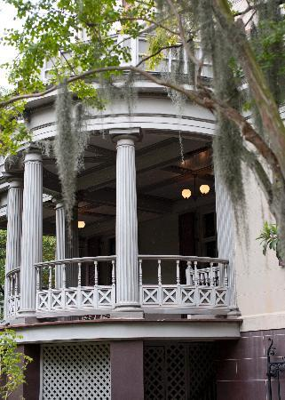 Juliette Gordon Low's Birthplace: View from Garden