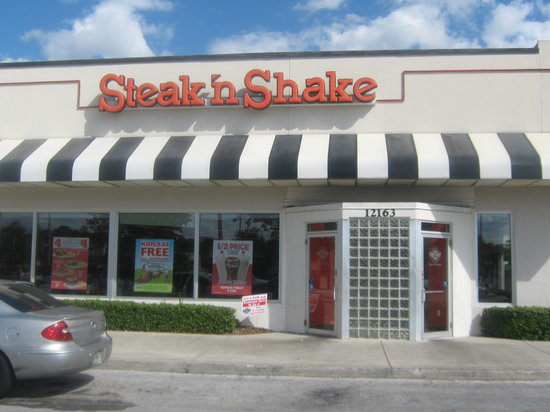 Steak 39 n shake orlando 2820 e colonial dr restaurant for Steak n shake dining room hours