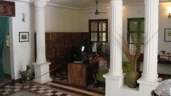 The Pavilion: lobby