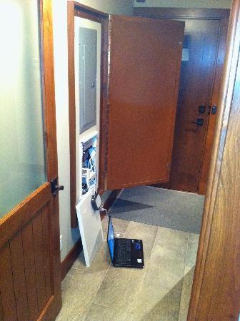 Tremblant Elysium Etoile du Matin : mon portable connecté à internet