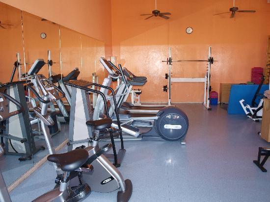 ClubHotel Riu Vistamar: the gym