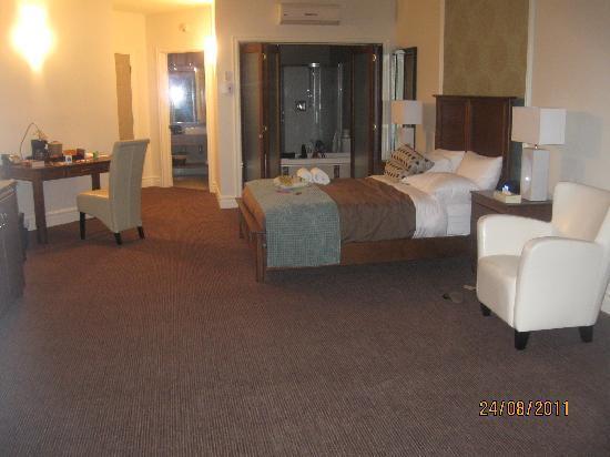 Saint-Ferdinand, Kanada: Belle chambre mais manque de meuble
