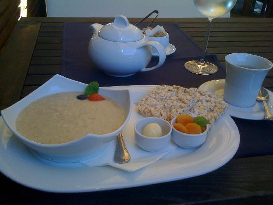 Amber Spa Boutique Hotel : Spa Breakfast