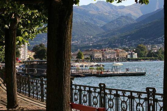 B&B Casello 182: Walk or cycle route to Lugano central