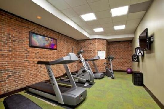 Holiday Inn Grand Rapids Downtown: Don't let a little travel get in the way of your routine