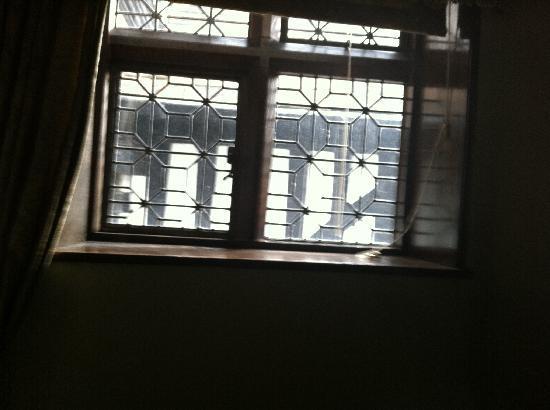 Hillbark Hotel: view from window