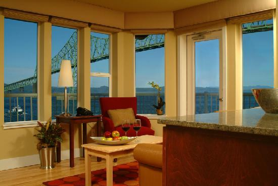 Cannery Pier Hotel: View from Guest Room