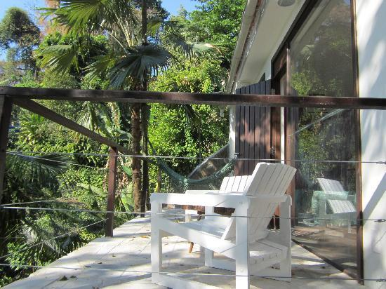 Casa Beleza: Private terrace with hammock for swinging!
