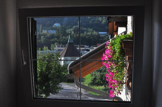 Hotel & Appartements Spitalerhof : Vista dalla finestra