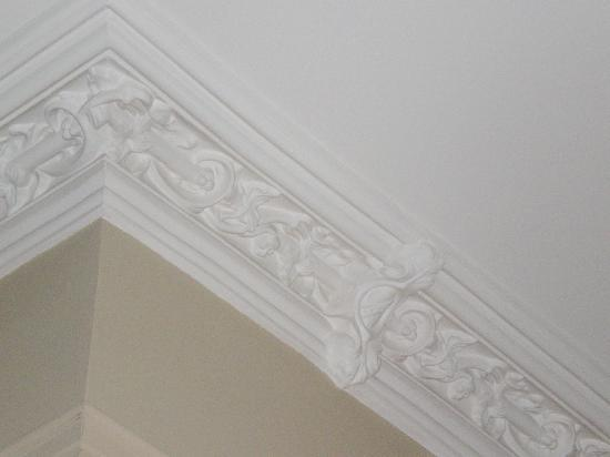 Wentworth Mansion: Gorgeous plasterwork.