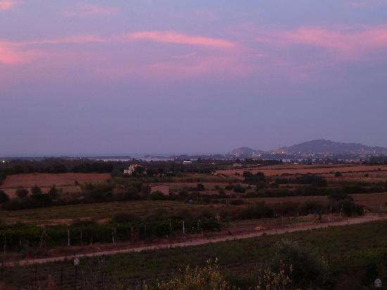 Hotel Birdesu: Il tramonta dalla terrazza del Birdesu