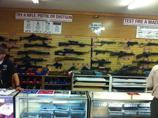 拉斯维加斯枪店