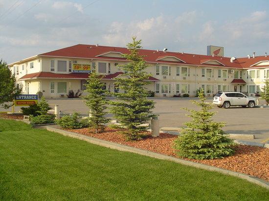 western budget reddeer 1 red deer alberta motel. Black Bedroom Furniture Sets. Home Design Ideas