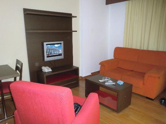 Hotel THe Corralejo Beach : il salottino