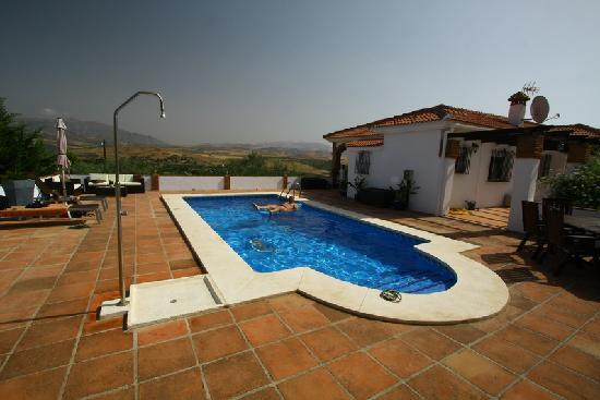 Alora Valley View Accommodations: The pool