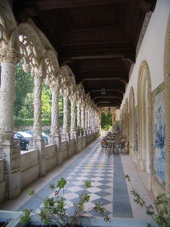 Bussaco Palace Hotel: Loggia