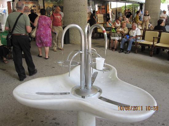 Hotel Verdi: acqua fiuggi per una buona salute
