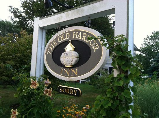 "The Old Harbor Inn: The sign below the sign says it all! ""Sorry"" means no more rooms available."