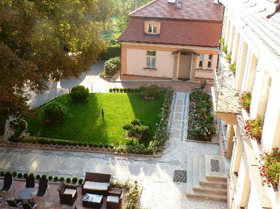 Castle Residence Praha: Blick aus dem Zimmer