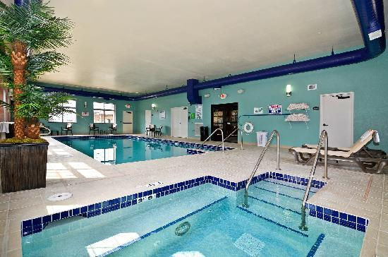 Best Western Plover Hotel & Conference Center: Take a dip in our indoor pool or relax in our whirlpool hot tub