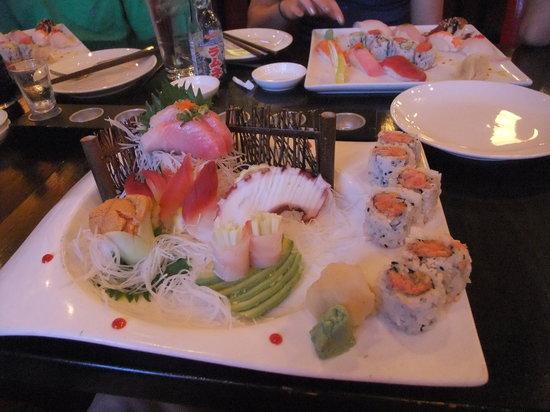 Wild Rice: Sushi and sashimi