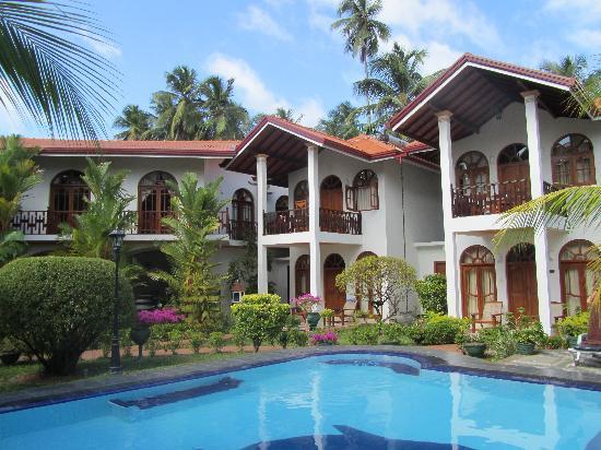 Hotel Bentota Village: trop beau