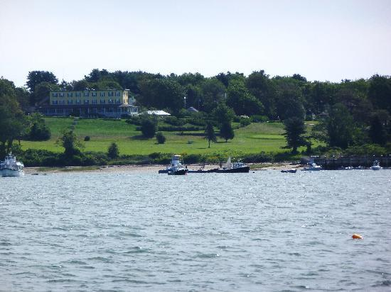 Chebeague Island Inn: From the Chebeague Island Ferry