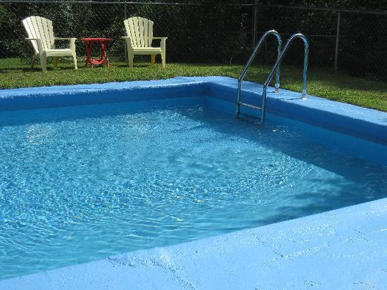 Pine Crest Motel and Cabins: Clean clear pool