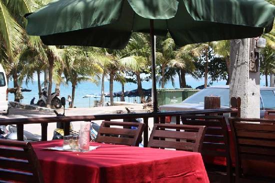 Jomtien Boathouse: View from restaurant