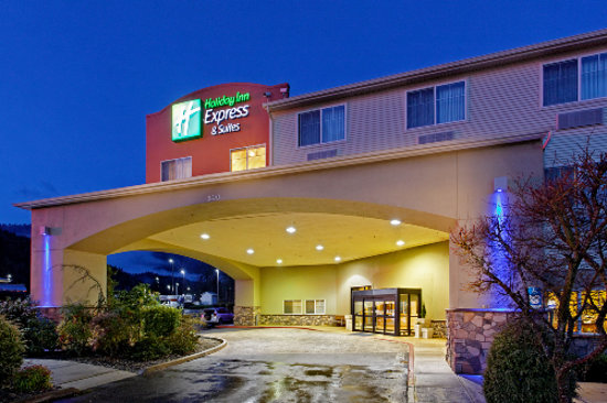 Holiday Inn Express & Suites Canyonville: Welcome To Holiday Inn Express Canyonville