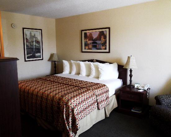 Baymont Inn & Suites Valdosta at Valdosta Mall: King size bedroom