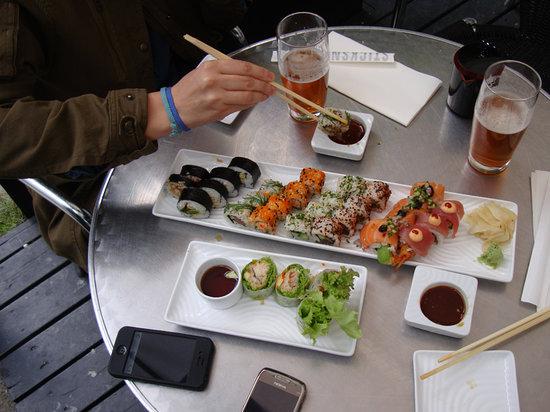 sticks n sushi brunch