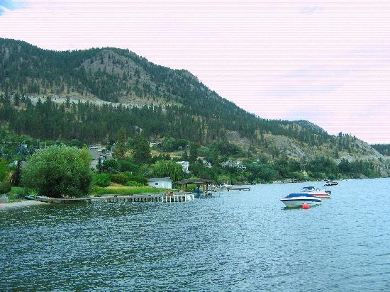 Davis Cove Lakeshore Resort: lake view