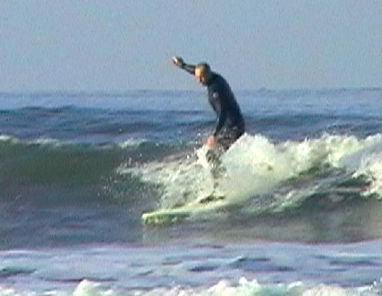 Sunnymeade Country House: surfing at woolacombe