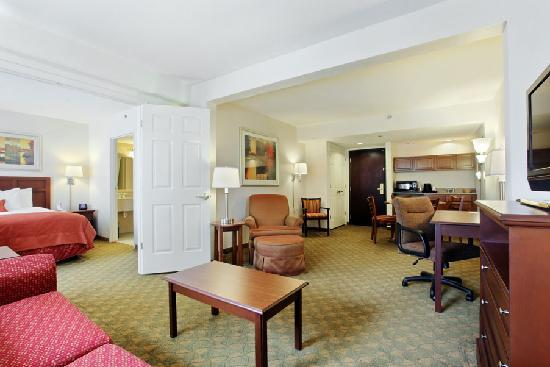 Wingate by Wyndham Tampa/At USF : Executive 2 Room Suite with Jacuzzie Bathtub