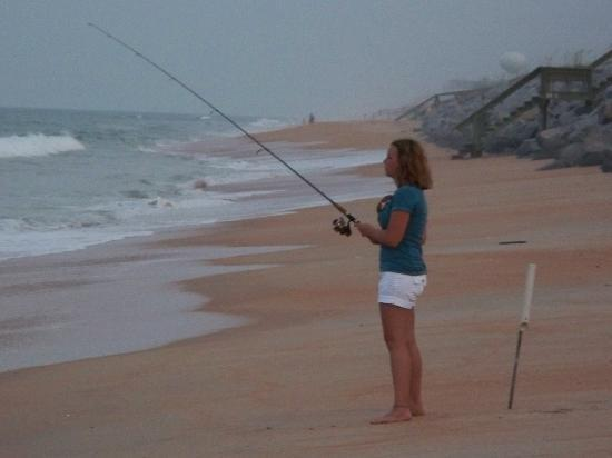 Surf fishing in flagler beach picture of flagler beach for Surf fishing florida