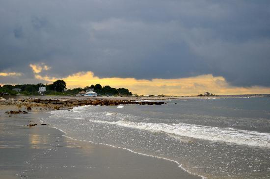 Pilgrim Sands on Long Beach: beach-low tide