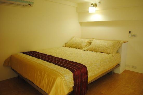 Jiashi Haoshi Guesthouse Serviced Apartment : Comfi bed room 2