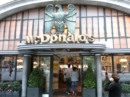 Mcdonald S Porto Avenida Dos Aliados Restaurant