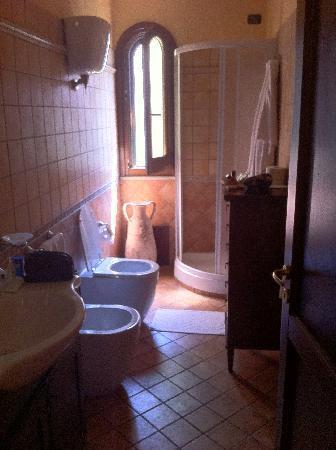 Hotel Villa Antica: ecco il bagno...