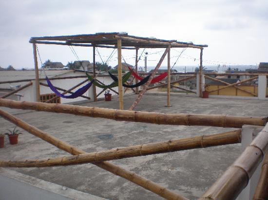 Amalur Hostal Restaurante: la terraza