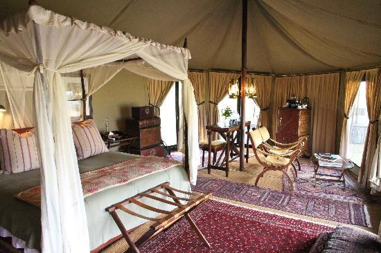 Singita Sabora Tented Camp: tent